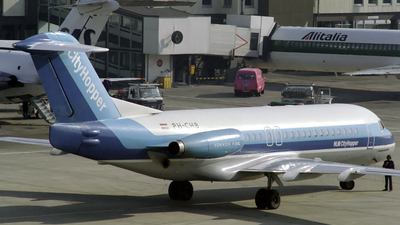 PH-CHB - Fokker F28-4000 Fellowship - NLM CityHopper