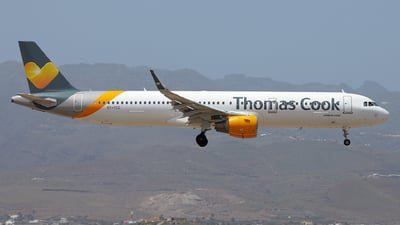 OY-TCG - Airbus A321-211 - Thomas Cook Airlines Scandinavia