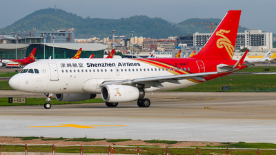 A picture of B8667 - Airbus A319133 - Shenzhen Airlines - © libohang