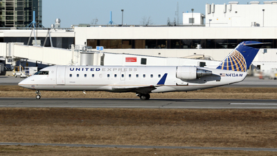 N413AW - Bombardier CRJ-200ER - United Express (Air Wisconsin)