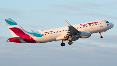 A picture of DAEWJ - Airbus A320214 - Eurowings - © marfi80