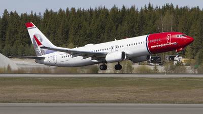 EI-FJE - Boeing 737-8JP - Norwegian