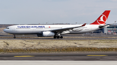 A picture of TCLOL - Airbus A330343 - Turkish Airlines - © Anna Zvereva