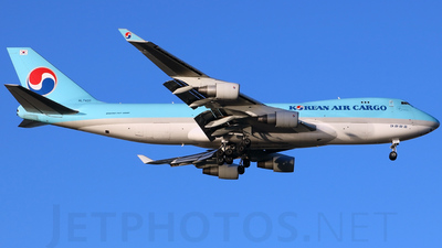 HL7437 - Boeing 747-4B5F(SCD) - Korean Air Cargo
