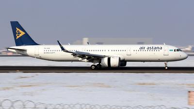 P4-KDE - Airbus A321-271N - Air Astana
