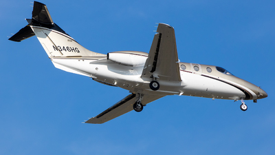 A picture of N346HG - Nextant 400XTi - Delta Private Jets - © Stephen J Stein