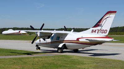 N477DD  - Mitsubishi MU-2B-40 - Private