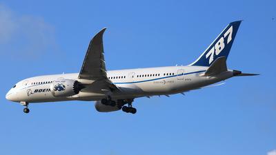 N7874 - Boeing 787-8 Dreamliner - Boeing Company