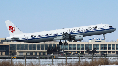 A picture of B6605 - Airbus A321213 - Air China - © King Wang