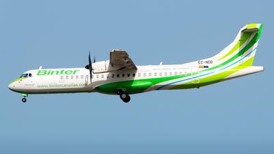 A picture of ECNDD - ATR 72600 - Binter Canarias - © Pablo Gonzalez de Leon