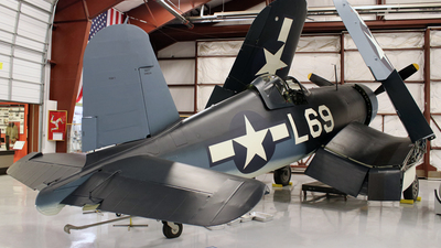 N4634 - Brewster F3A-1A Corsair - Private