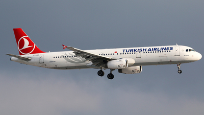 A picture of TCJRE - Airbus A321231 - Turkish Airlines - © Brian T Richards