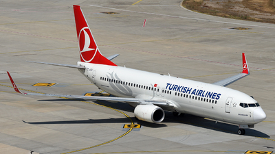 A picture of TCJVJ - Boeing 7378F2 - Turkish Airlines - © Arda Ozenc Erdem