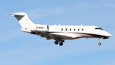 N782BJ - Bombardier BD-100-1A10 Challenger 300 - Private