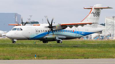 A picture of FWWLY - ATR 42600 - [0811] - © Sebastien David