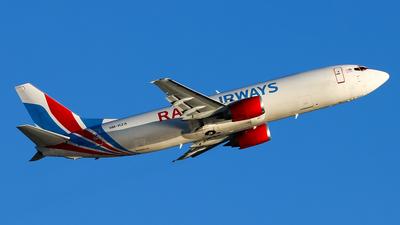 A picture of 9MRZA - Boeing 7374Q3(SF) - Raya Airways - © Jack Sin - HKPSA