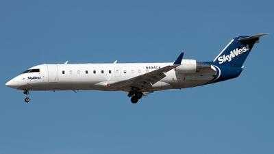 N494CA - Bombardier CRJ-200ER - SkyWest Airlines