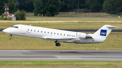 OY-RJK - Bombardier CRJ-200ER - Scandinavian Airlines (Cimber)