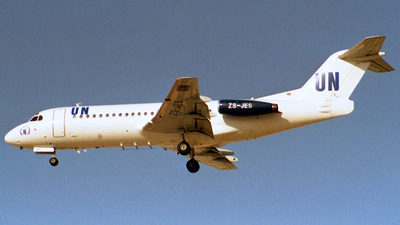 ZS-JES - Fokker F28-4000 Fellowship - Airquarius Aviation