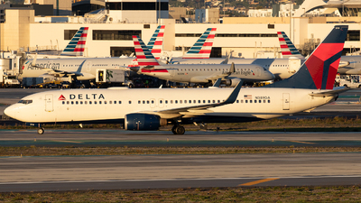 A picture of N389DA - Boeing 737832 - Delta Air Lines - © Der Kölner