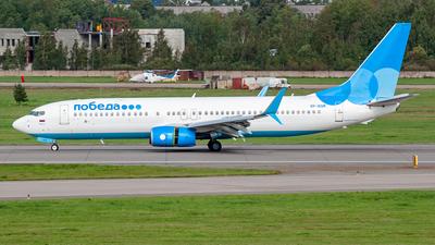VP-BQM - Boeing 737-8MC - Pobeda