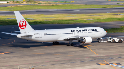A picture of JA655J - Boeing 767346(ER) - Japan Airlines - © LUSU