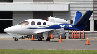 N418RS - Cirrus Vision SF50 - Private