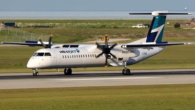 C-GPWE - Bombardier Dash 8-Q400 - WestJet Encore