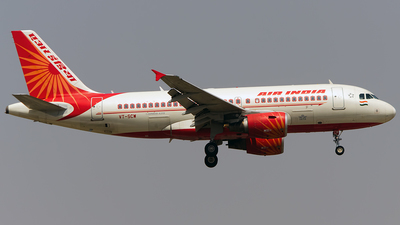 VT-SCW - Airbus A319-112 - Air India