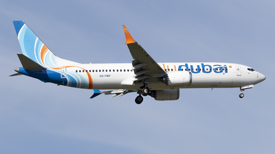 A6-FMF - Boeing 737-8 MAX - flydubai