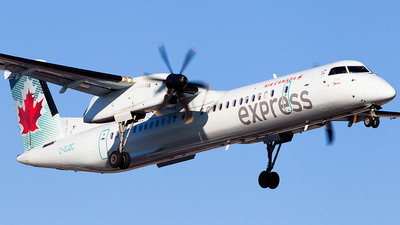C-GJZC - Bombardier Dash 8-Q402 - Air Canada Express (Jazz Aviation)