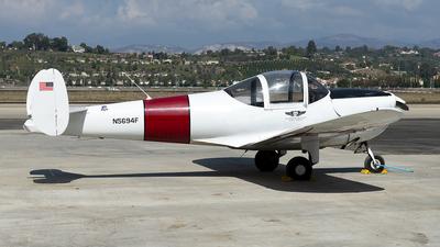 N5694F - Alon A-2 Aircoupe - Commemorative Air Force