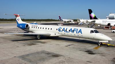 A picture of XAUVX - Embraer ERJ145EP - Calafia Airlines - © Kukulkan Avia