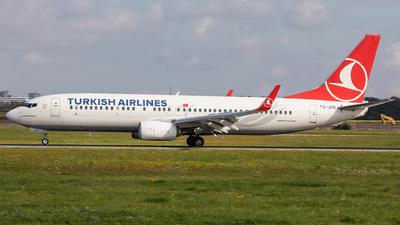 TC-JVK - Boeing 737-8F2 - Turkish Airlines