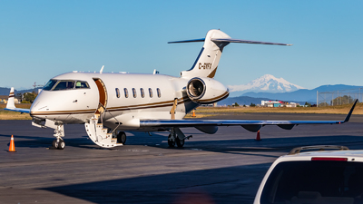 A picture of CGVFX - Bombardier Challenger 300 - Sunwest Aviation - © Grant Gladych