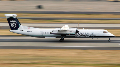 N418QX - Bombardier Dash 8-Q402 - Alaska Airlines (Horizon Air)