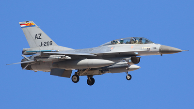 J-209 - General Dynamics F-16BM Fighting Falcon - Netherlands - Royal Air Force