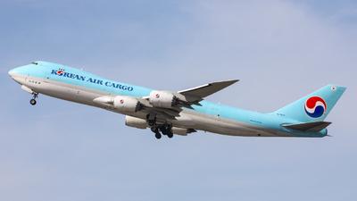 A picture of HL7629 - Boeing 7478B5(F) - Korean Air - © Graham H