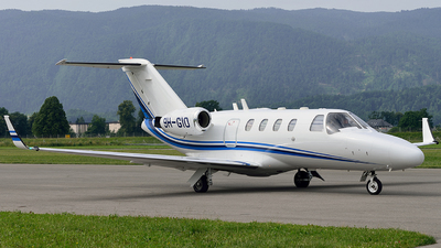 9H-GIO - Cessna 525 CitationJet 1 - Private