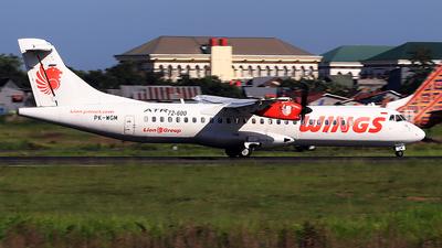 PK-WGM - ATR 72-212A(600) - Wings Air