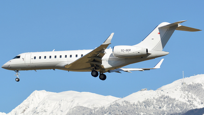 TC-SER - Bombardier BD-700-1A10 Global Express - Private