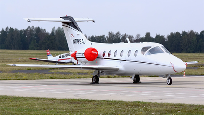 A picture of N799AJ - Hawker Beechcraft 400XP - [RK067] - © Petr Polak
