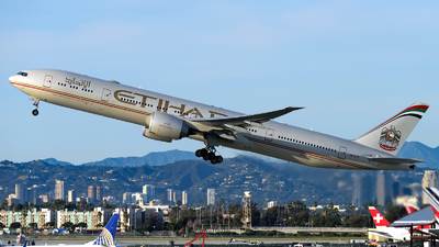 A6-ETS - Boeing 777-3FXER - Etihad Airways
