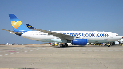 G-CHTZ - Airbus A330-243 - Thomas Cook Airlines