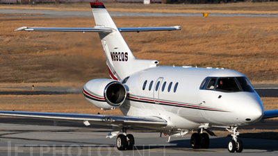 A picture of N892QS - Hawker 800XP - NetJets - © Agustin Anaya