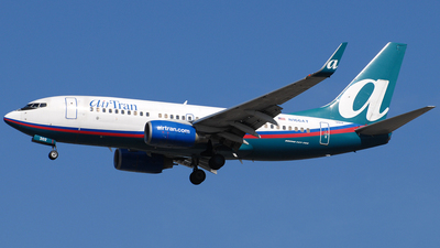 N166AT - Boeing 737-7BD - airTran Airways