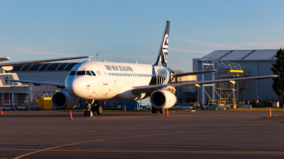 A picture of ZKOJD - Airbus A320232 - Air New Zealand - © Dominic Oakes