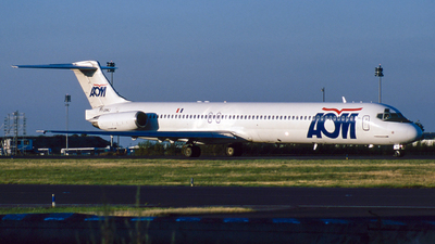 F-GRMJ - McDonnell Douglas MD-83 - AOM French Airlines