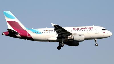 D-ABGQ - Airbus A319-112 - Eurowings