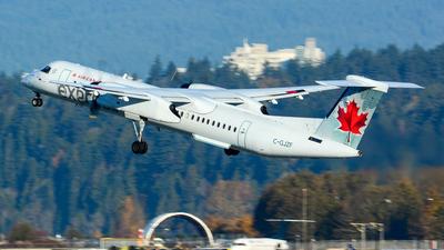 A picture of CGJZF - De Havilland Canada Dash 8400 - Air Canada - © Chung Kwok